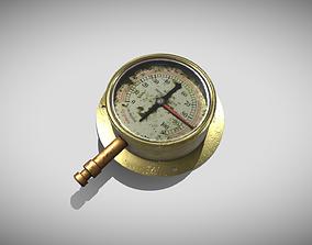 3D model Steampunk Gauge