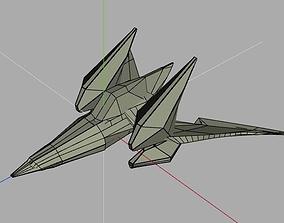3D Star Fox Arwing Layo