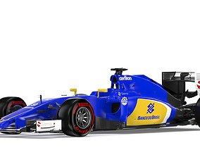 3D F1 Sauber 2015
