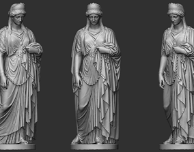 Woman In Chains Sculpture 3D printable model