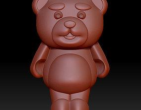 3D model bear bonbon