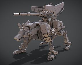 3D print model Command Wolf
