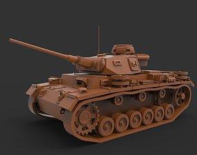 3D printable model Panzer III