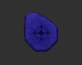 Tibia UH - Ultimate Healing Rune CGI or Printable