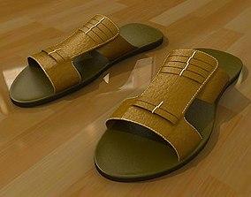 Mula sandals 3D model