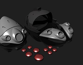 Overwach WIdowmaker 3D printed Helmet classic