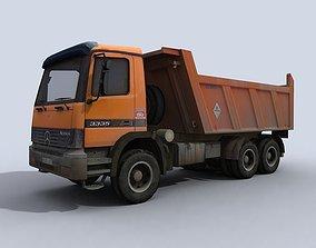 Dump Truck 3D model VR / AR ready