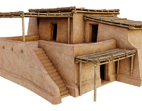 Common Shanty 3D asset game-ready
