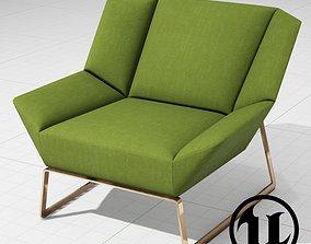 3D asset MolteniC Tight Chair