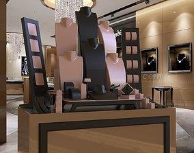 3D printable model luxury jewellry window design