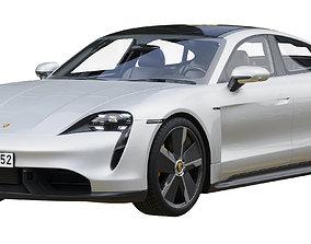 Porsche Taycan Turbo S 3D
