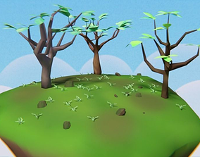 3D asset LandscapePack 01