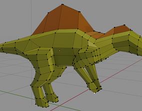 3D model espinosaurio