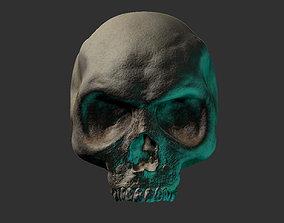 Skull Head skull 3D printable model