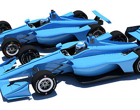 Indycar 2018 - Road and Oval model 3D