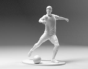 Footballer 03 Footstrike 05 Stl 3D printable model