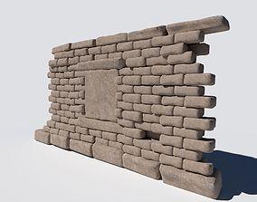 Ancient Wall 3D