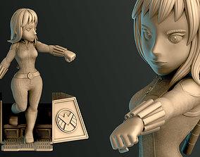 3D printable model Black Widow