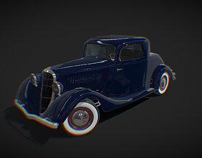 Antique Car Ford Coupe 3D asset