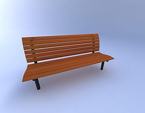 Bench-Park2 3D model