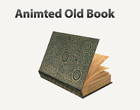 3D Old Book Rigged