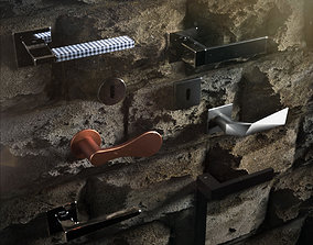 3D model Door Handle Collection 02 by Dnd Italia