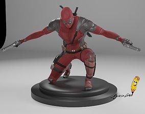 games 3D print model DEADPOOL cool