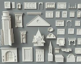 3D model Building Facade Collection-1 - 41