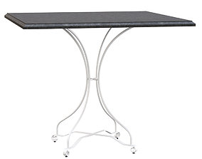Manutti Firenze Square Table 3D asset