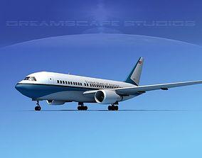 3D model Boeing 767-200ER US Government