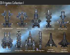 2D Frigates Collection I 3D