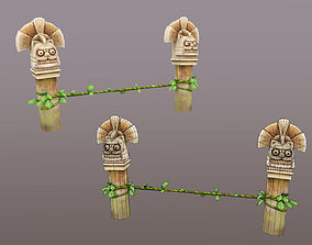 3D asset PirateCollection Totems