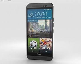 2g HTC One M9 Gunmetal Gray 3D model