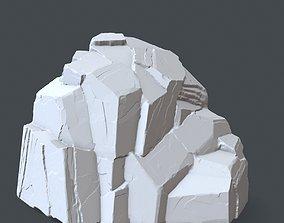 rock 8 3D print model