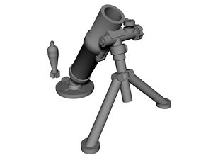 28mm mortar 3D print model