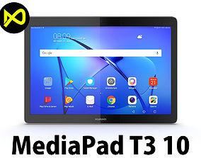 3D Huawei MediaPad T3 10