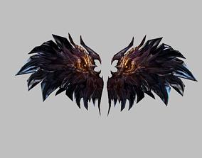 Devil Wing 3D asset
