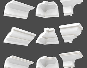 3D model moulding decoration