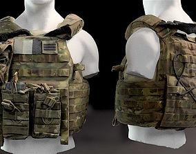 highdetail 3D model BulletProof Vest