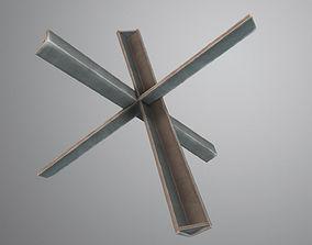 Steel Hedgehog 3D model