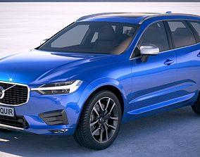3D model Volvo XC60 R-Design 2018