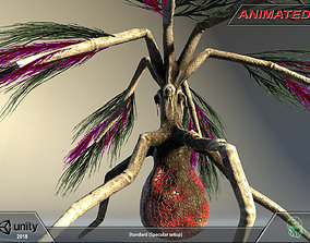 3D model Alien flora - plant 08