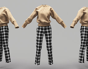 3D model Female Clothing 10