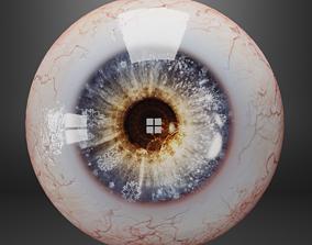 3D asset Human eyes fantasy style