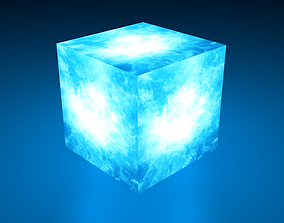 Tesseract from MCU 3D asset