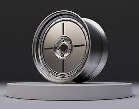 L4 wheel 3D asset