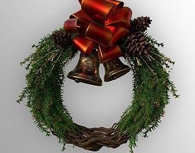 Christmas Wreath 3D