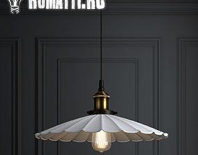 3D Hanging lamp Romatti Grand White