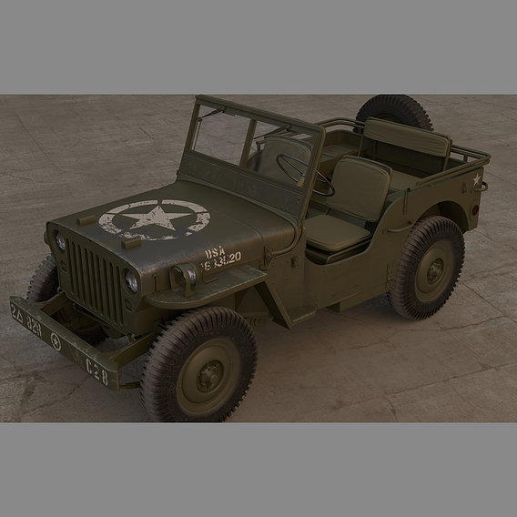 Jeep Willy 1942.