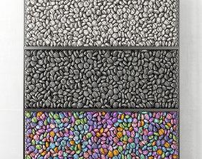 3D model Gabion medium pebble